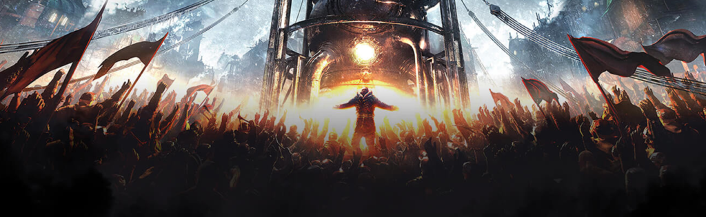 main image from the game frostpunk